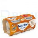Pack Nutribén Potitos Manzana, Naranajo,Plátano y Galleta120g 2 uds