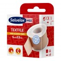 Salvelox Esparadrapo textil blanco 5m x 2,5 cm