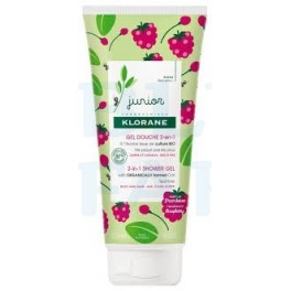Klorane Junior Gel de ducha 2 en 1 Pera 200ml