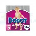 Pañal Dodot Activity Talla 4 10-15 kgs 42 unidades