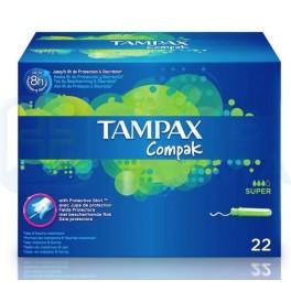 Tampax Compak Super 22 unidades