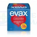 Evax Cottonlike Normal Plus Compresas con Alas 28 unidades