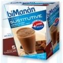 biManán Batido de chocolate 5 sobres