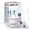 Colágeno con Magnesio y Vitamina C sabor Fresa AML Sport LaJusticia 20 sticks