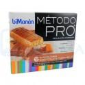 BiManan Barritas Chocolate Caramelo Dieta Hiperproteica Método PRO 6 uds
