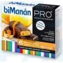 biManán Barritas sabor chocolate naranja 6uds