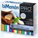 biManán Barritas sabor chocolate coco 6uds