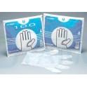 Guantes de plástico Corysan 100uds