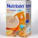 Nutribén 8 Cereales y Miel con Calcio 600 g