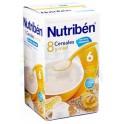 Nutribén 8 Cereales y Miel con Leche adaptada 600 g