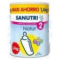 Sanutri Natur 2 Leche Continuación 1400 gr