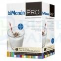BiManán Pro Batido Sabor Chocolate Blanco 6 sobres