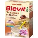 Blevit Plus 5 Cereales con Dátiles 300 g