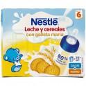 Nestlé Leche y Cereales con Galleta María 2 x 250 ml