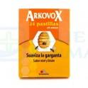 Arkopharma Arkovox Sabor Miel y Limón 24 pastillas