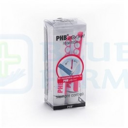 PHB Pasta Dental Recambio Pocket 4 x 6 ml