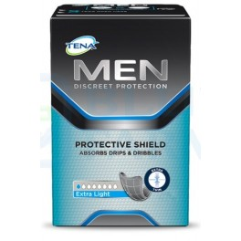 Tena Men Extra light Escudo protector 14 unidades