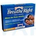 Tiras Nasales Breathe Right Pequeñas/Medianas 10 unidades