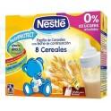 Papilla Nestle 8 Cereales Lista para Tomar 2x250ml
