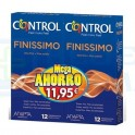 Control Finissimo Xtra Fino Duplo 24 unidades
