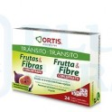 Ortis Tránsito Fruta & Fibra Concentrado12 cubos