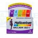 Multicentrum Mujer 50 + 30 comp