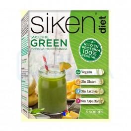 Sikendiet Vegano smoothie Green 5 sobres