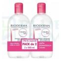 Bioderma Duplo Sensibio H2O Solución micelar 500 ml + 500 ml