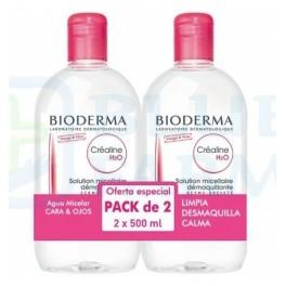 Bioderma Pack Sensibio H2O Solución micelar 500 ml + 250 ml