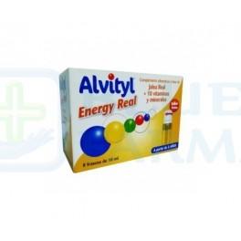 Alvityl Energy Real 8 Frascos de 10ml