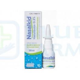 Nasalkid Spray Nasal con Acido Hialurónico 0.2% 20ml