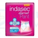 Indasec Discreet Pant Plus Talla M 12 unidades