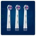 Oral-B Cabezal de recambio 3D White 3 unidades
