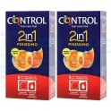 Pack Control Finissimo 2in1 6 preservativos + gel lubricante x 2
