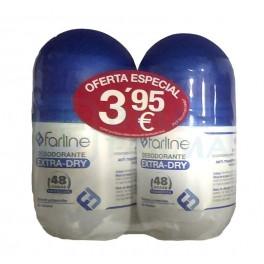 Pack Farline desodorante extra-dry 2 x 50ml