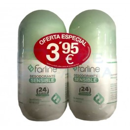 Pack Farline desodorante sensible 2 x 50 ml