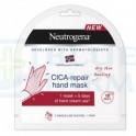 Neutrogena Cica-Repair máscara de manos 1 par