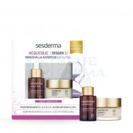 Pack Sesderma AcGlicolic sérum 30ml +Sesgen 32 crema 50ml